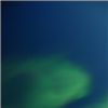 The views aurora borealis from the USCGC Healy