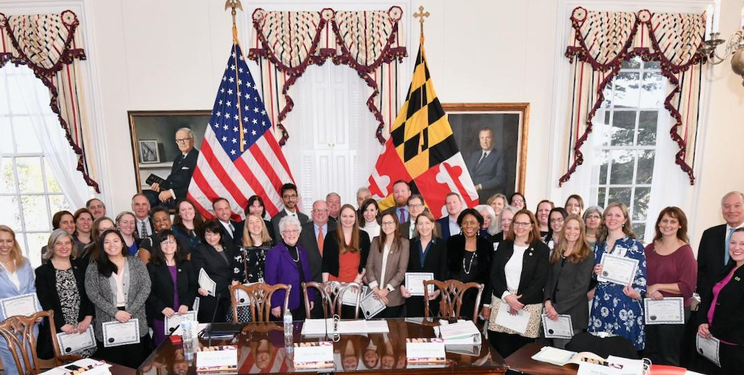 Maryland-Governor-Larry-Hogan-honors-Certified-Climate-Change-Professionals
