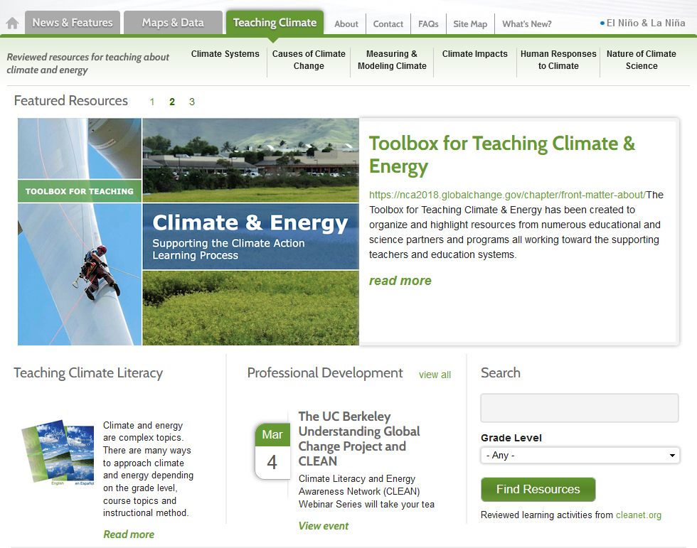 Teaching Climate